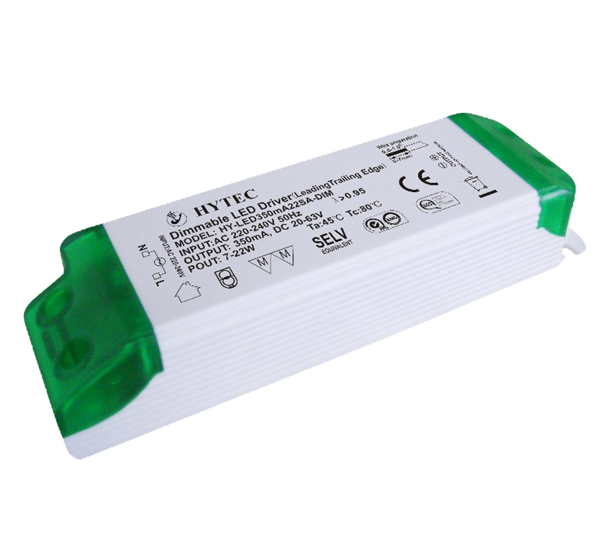 Dimmable LED Driver 22W (Leading/Trailing Edge)