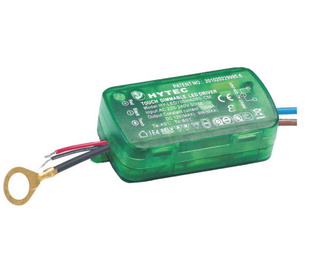 Touch Dimmable LED Driver 9W Series Built-in Type