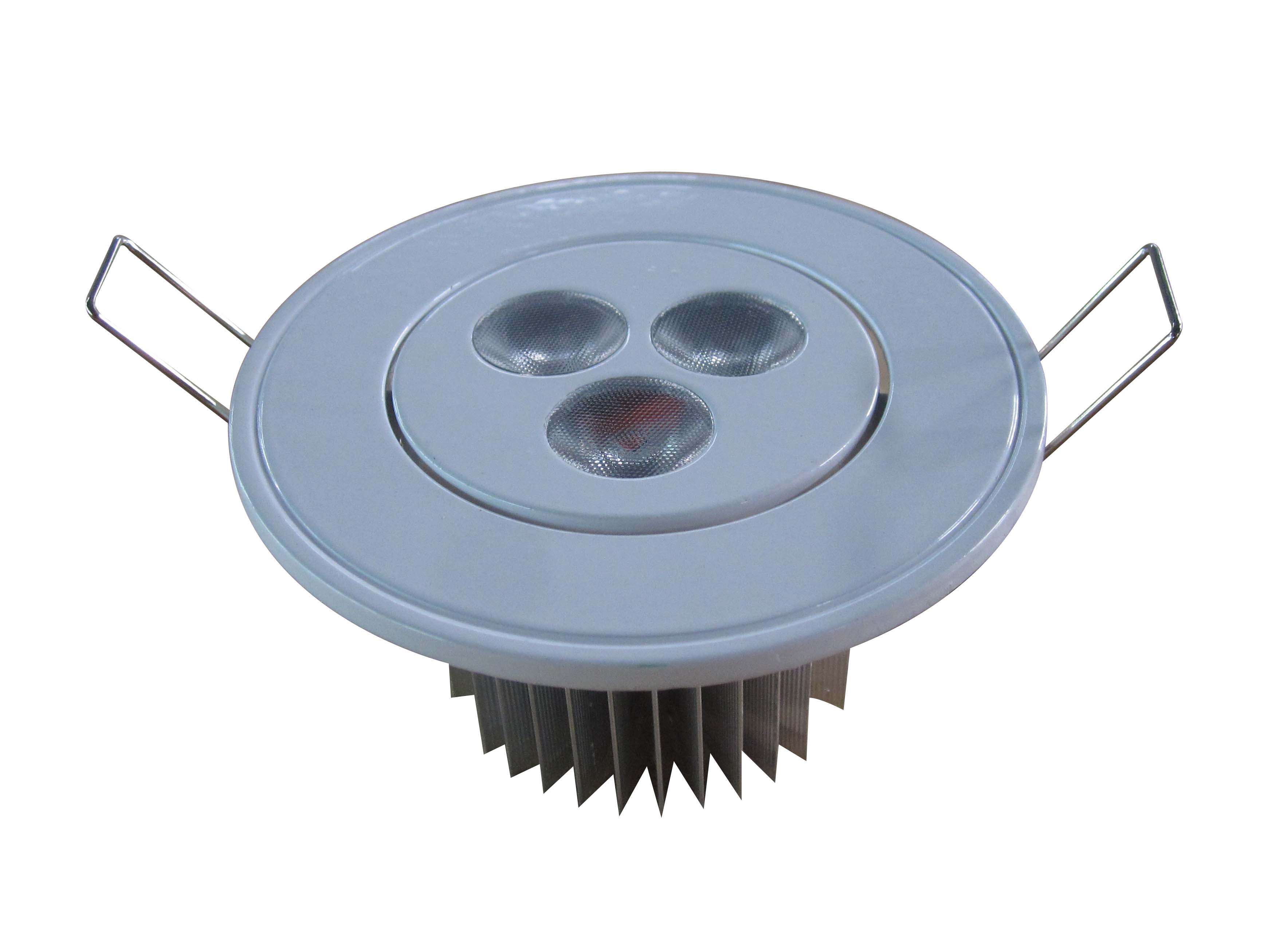 High power LED downlight 3/5/7W with white painting