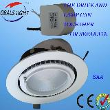 2012new ,high lumen led round spot light CE ROSH SAA approved