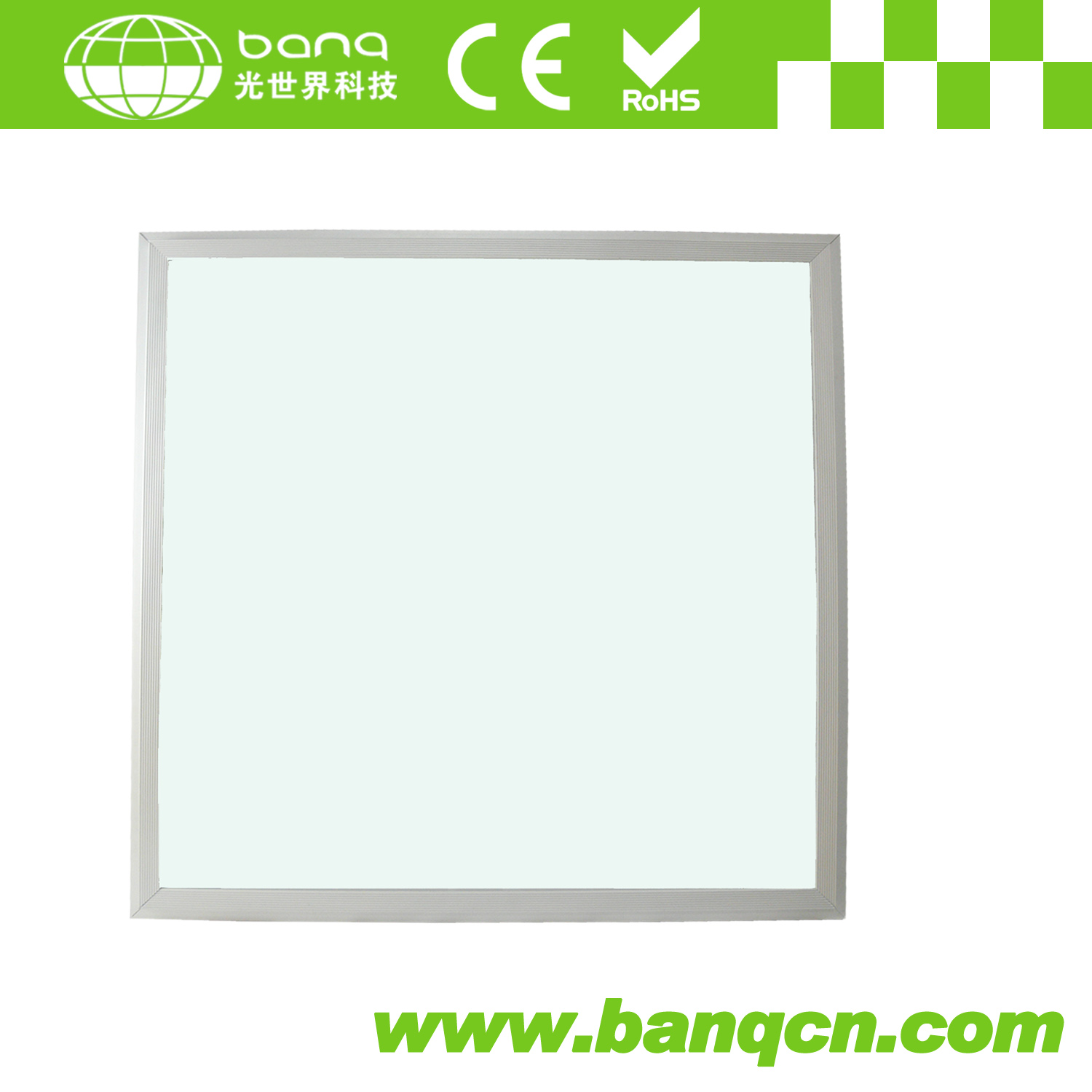 BANQ High Brightness IES>90LM/W TUV&SAA&ERP 60x60cm LED Panel Light