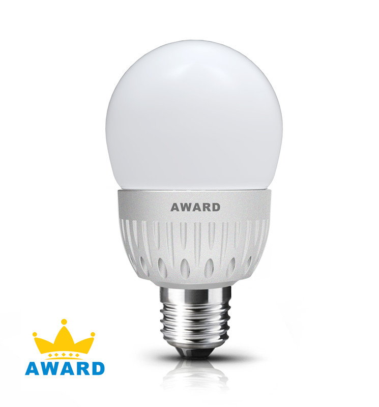 4W A60 LED BALL BULB with CE, RoHS and EMC Product Approvals