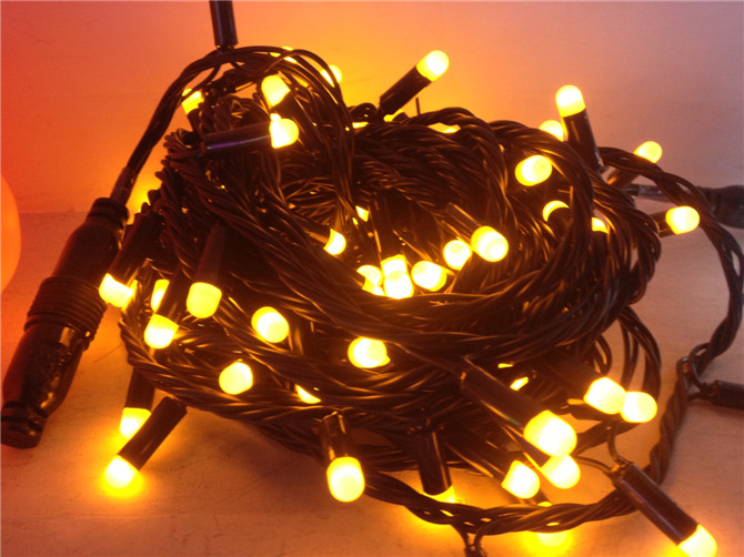 LED Christmas light outdoor decoration IP44 decorative PVC LED string light