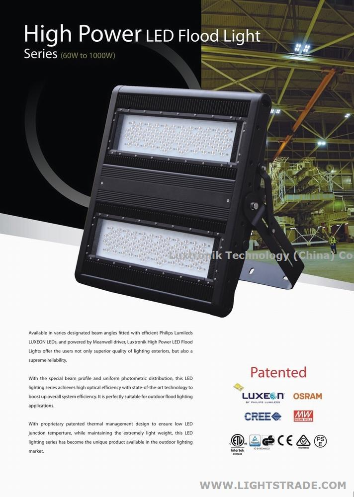 100W 150W 200W 300W 400W 600W 1000W LED Stadium Soccer outdoor flood lighting