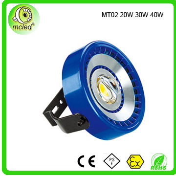 20w -40w IP67 80a Meanwell driver 3 years warrant time led flood lighting