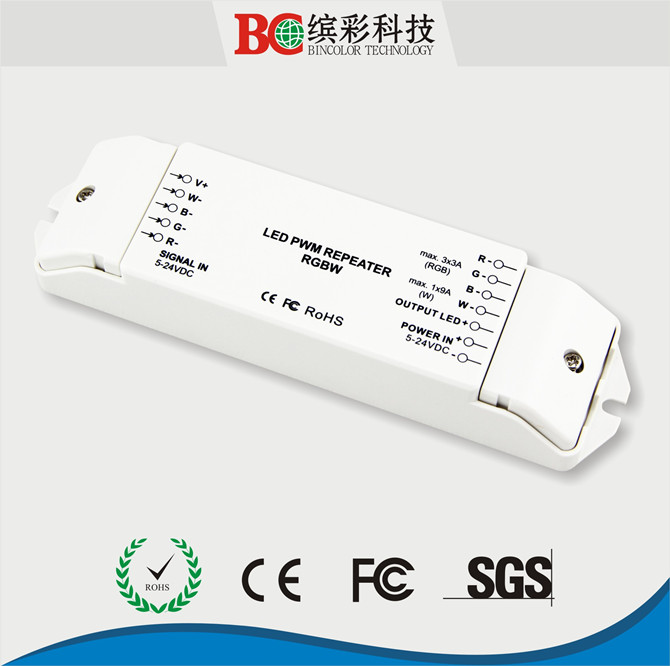 4 Channel constant voltage LED power amplifier rgbw