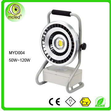 led work lights with rechargeable li-ion battery