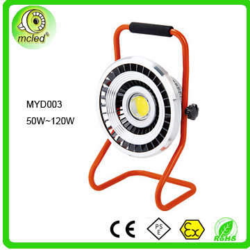 china supplier rechargeable li-ion battery led work light