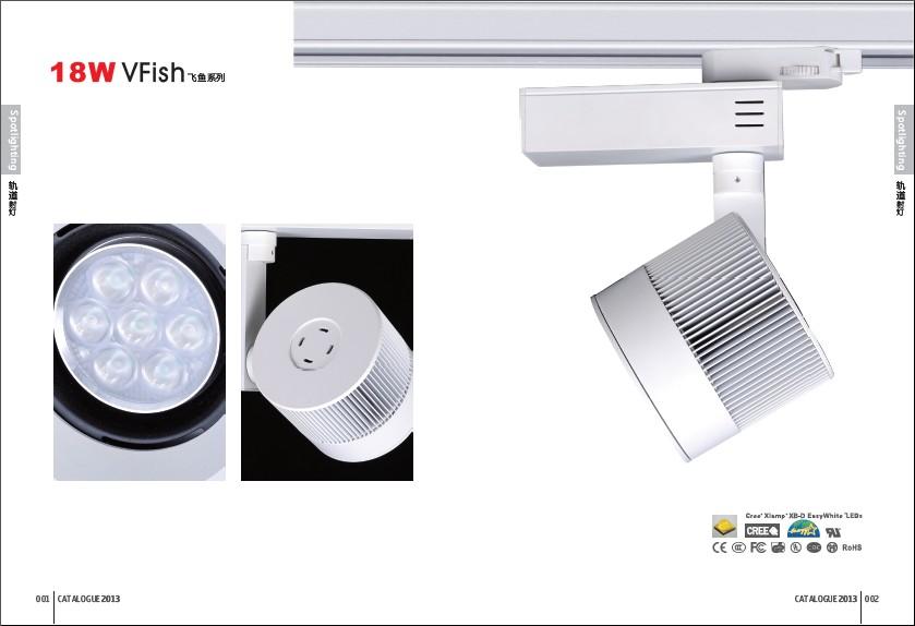 LED Track Spotlight OL-11962-18W