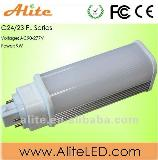 G24 2pin 4pin G23 E27 etc holders available GX24 pl led lamp