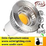ETL LED Spotlight GU10 Dimmable 5W High Lumen COB SAA UL