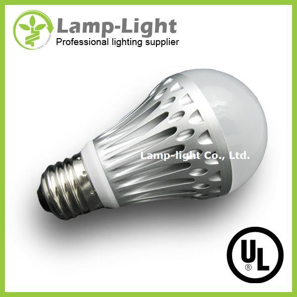 UL/CUL, TUV CE, 8W 450lm Dimmable A60/A19 LED Bulb