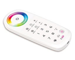 T3X 2.4G LED touch controller with programmble function