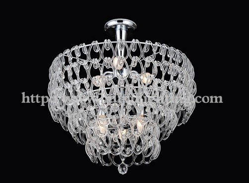 High quality and professional design crystal ceiling lamp