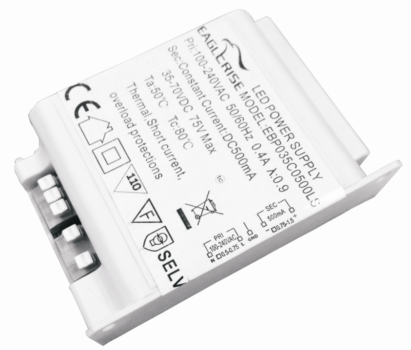 PUSH(LIV)Dimmable Driver With Low Ripple
