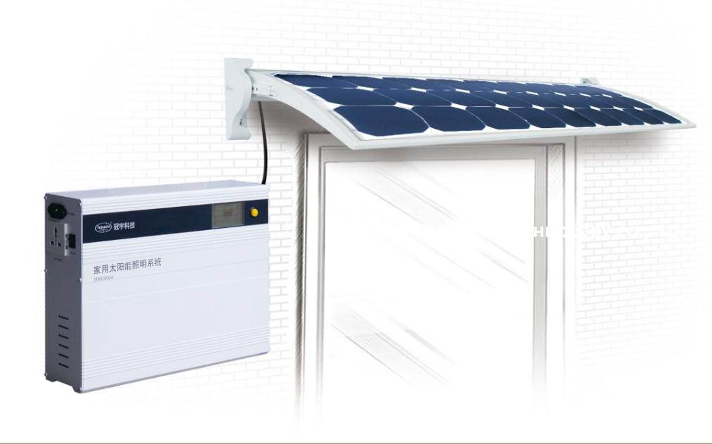 200w off grid solar home system combined with window