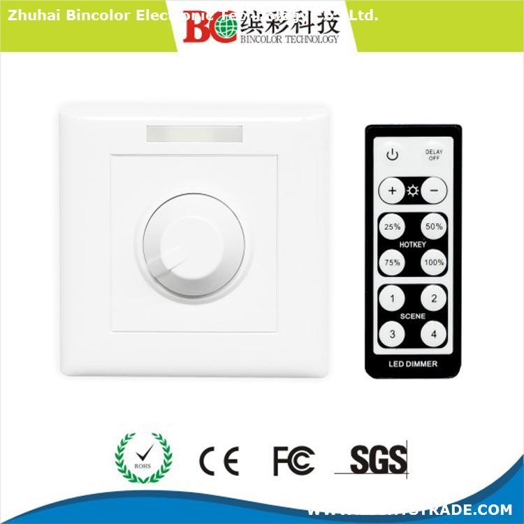 ir remote controller dc 12-48v led dimmer