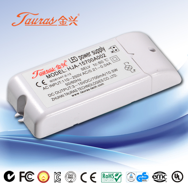 24Vdc 10W Constant Voltage LED Power Supply