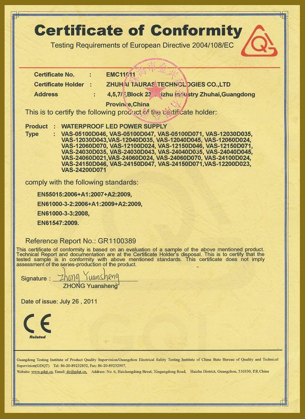 CE/EMC