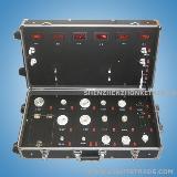 Aluminum 4-Wheel Trolley Cases For LED Lighting Tester Show Case