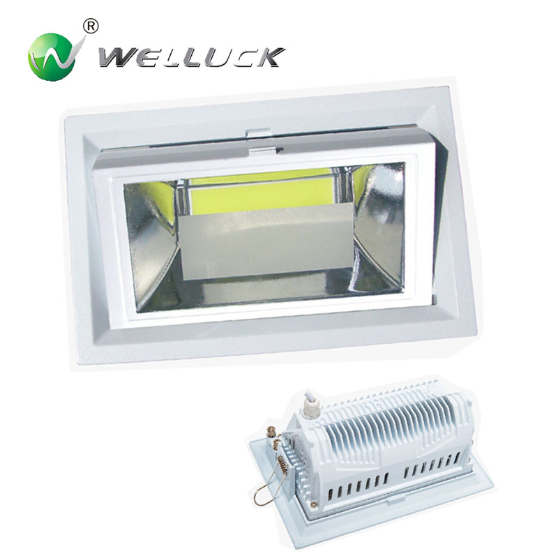 Adjustable 35W led down light Commercial Lighting 3 years warranty
