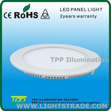 18w round led panel light