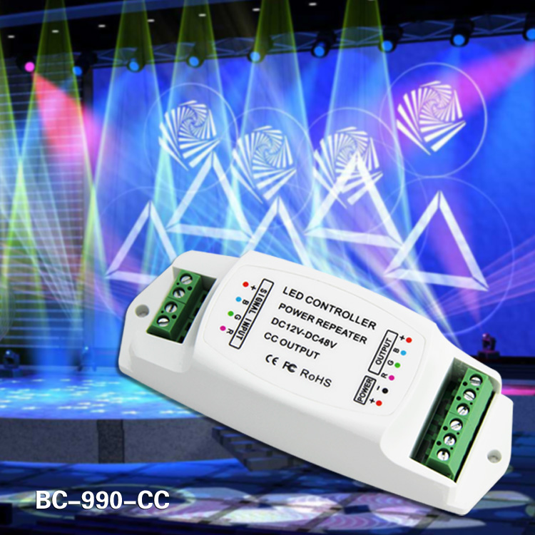 led power repeater 3ch Constant current 350ma led amplifier