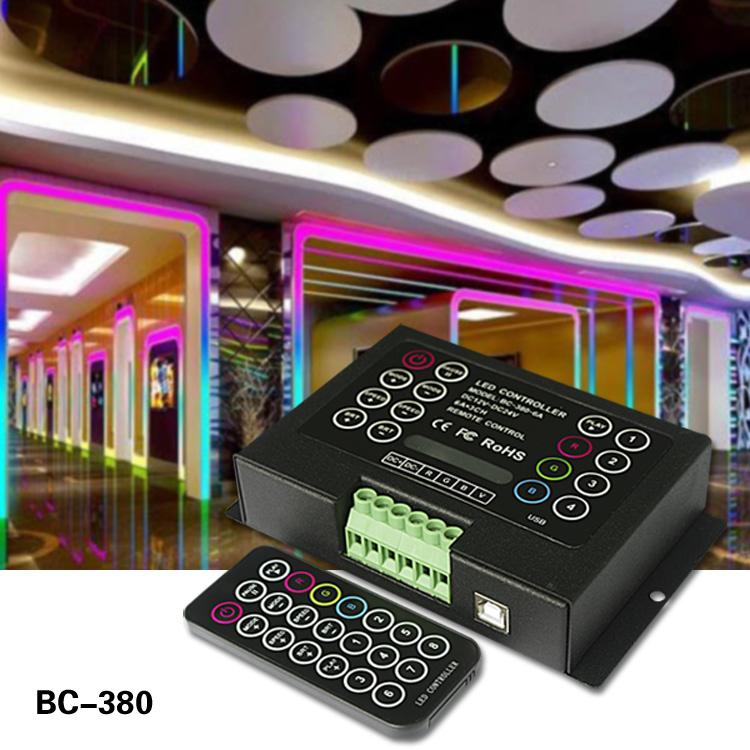 dc 12-24v 6a led volt Controller RGB