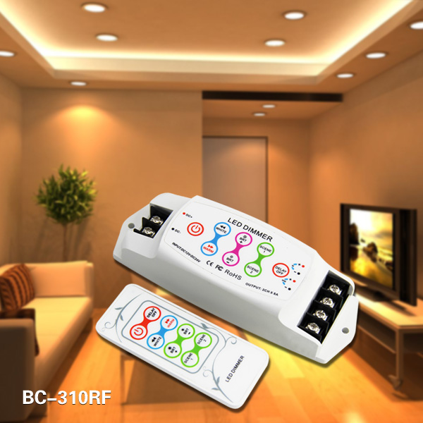 2ch RF remote LED color temperature ct controller