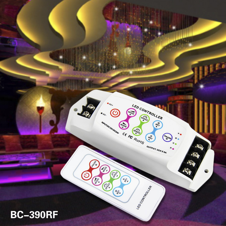 dc 12-24v RF remote control PWM RGB controller led