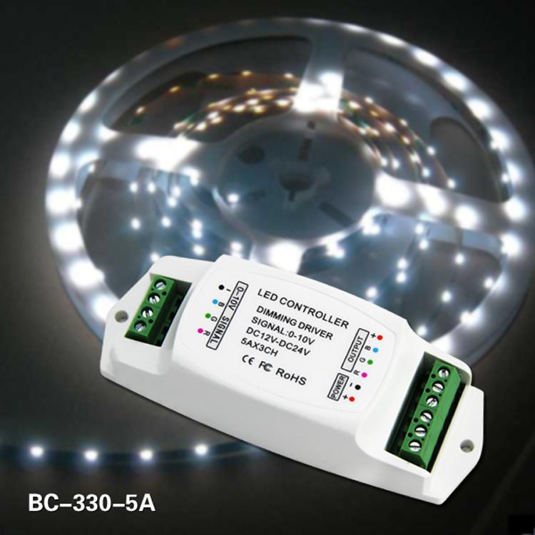 0-10V 0-10V LED dimming driver 3ch