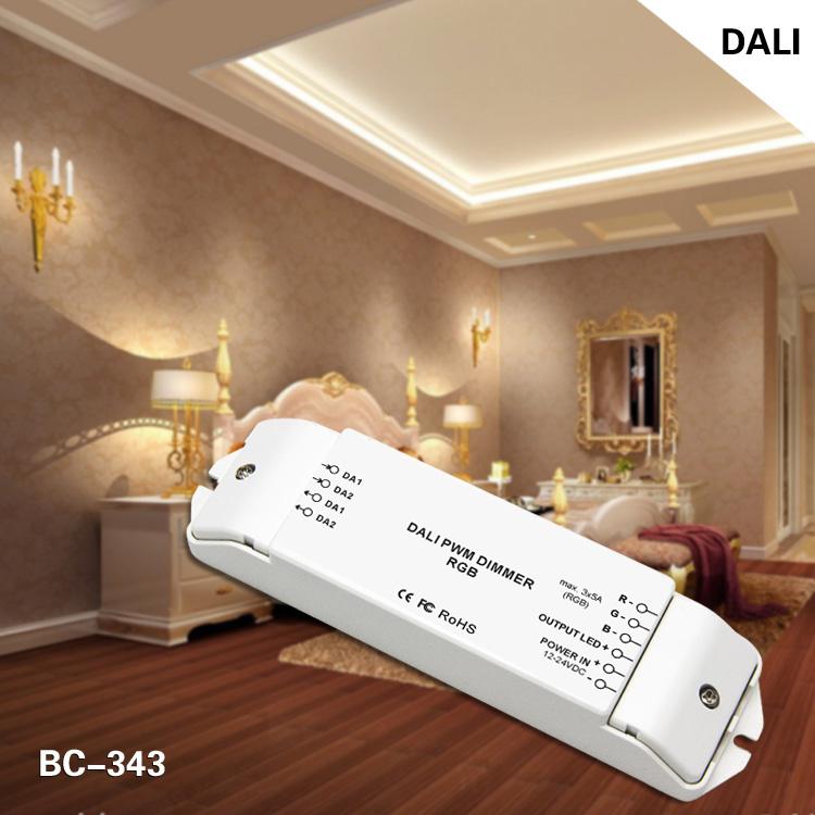 12-24v dc 3 channels rgb dali dimming driver led driver 3ch
