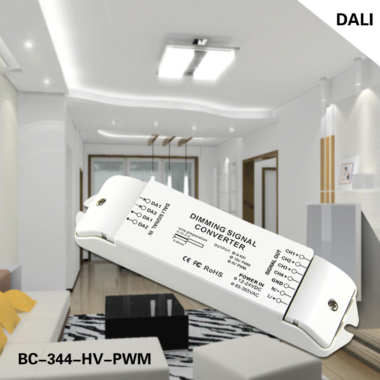 DC 12-24v DALI to 0-10v singla converter led transformer
