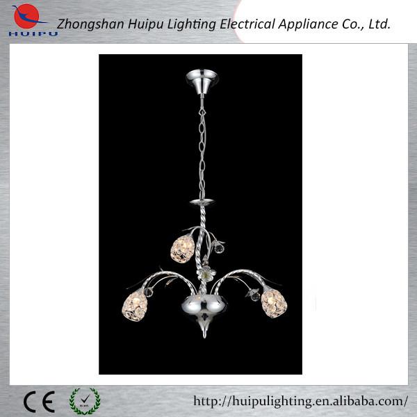 Contemporary crystal chandelier