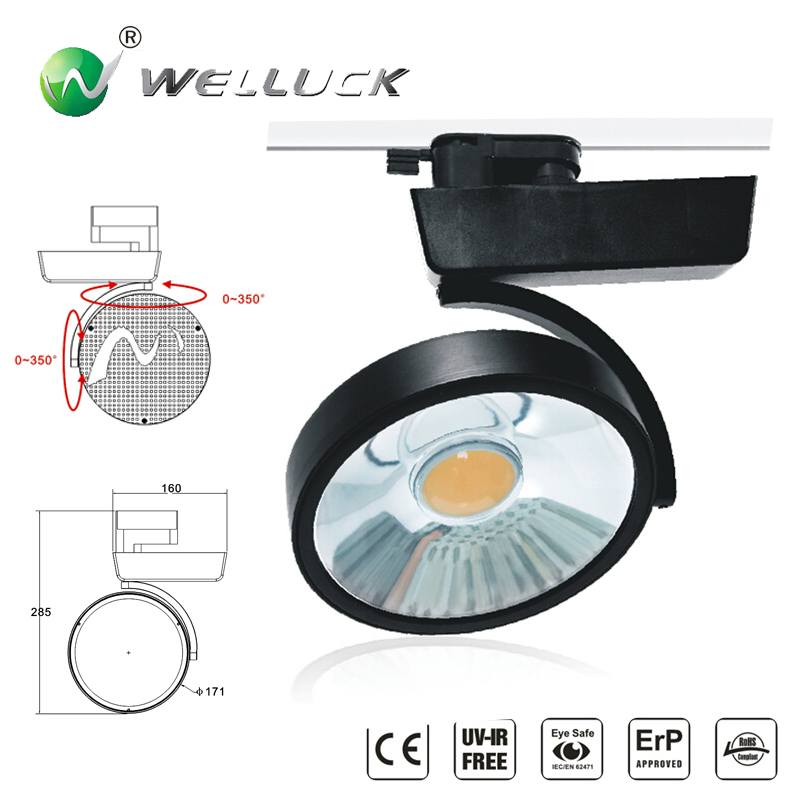 LED Track Light COB LED Track Lamp Spot Light with CE