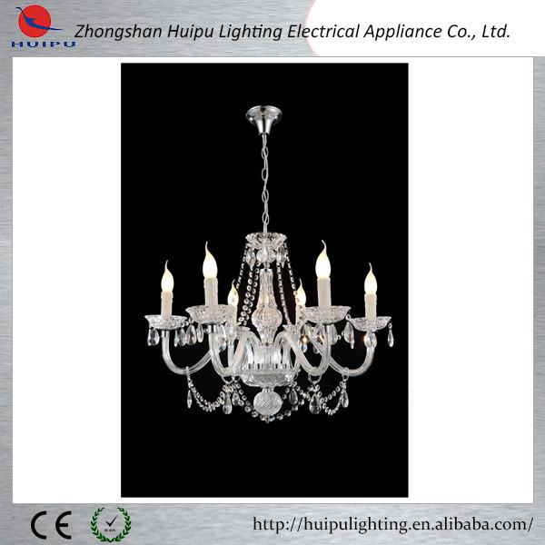 Modern hotel crystal pendant lamp