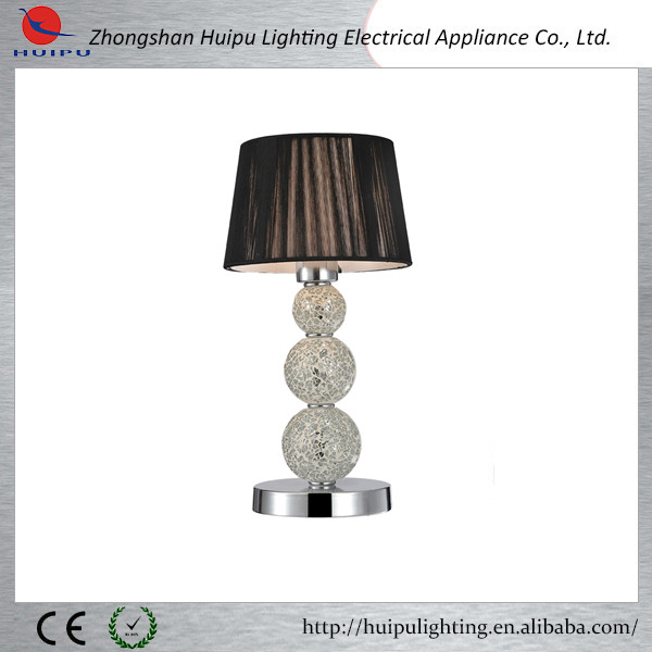 Contemporary mosaic glass ball decoration bedroom table lamp
