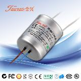 Constant Current  2 to 4Vdv 350mA 1.4W Waterproof LED Driver JCC-04350D033 Tauras