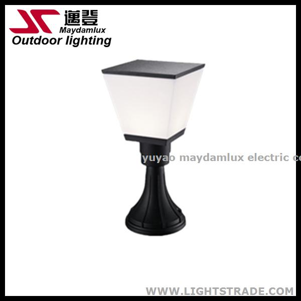 new design led outdoor garden pillar light with CE IP5