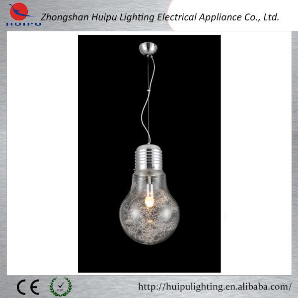 Modern Edison bulb design big bulb pendant lamp