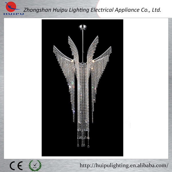 New product big crystal pendant lamp hotel pendant lamp