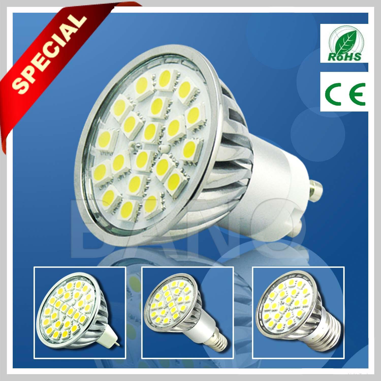 2013 Hotsale SMD 5050 20pcs GU10 LED Bulb