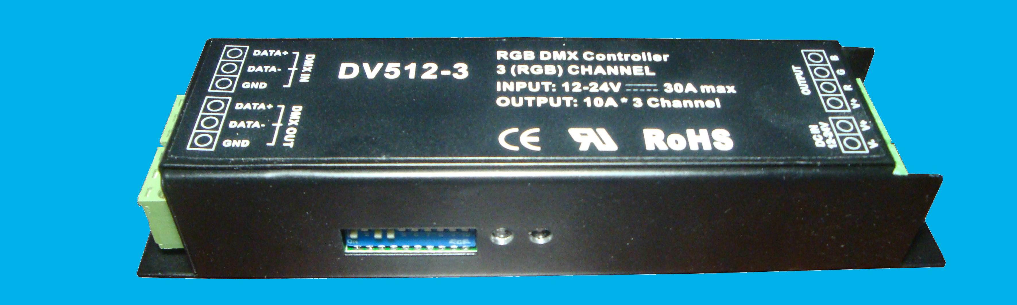 DMX decoder(10A*3CH.)