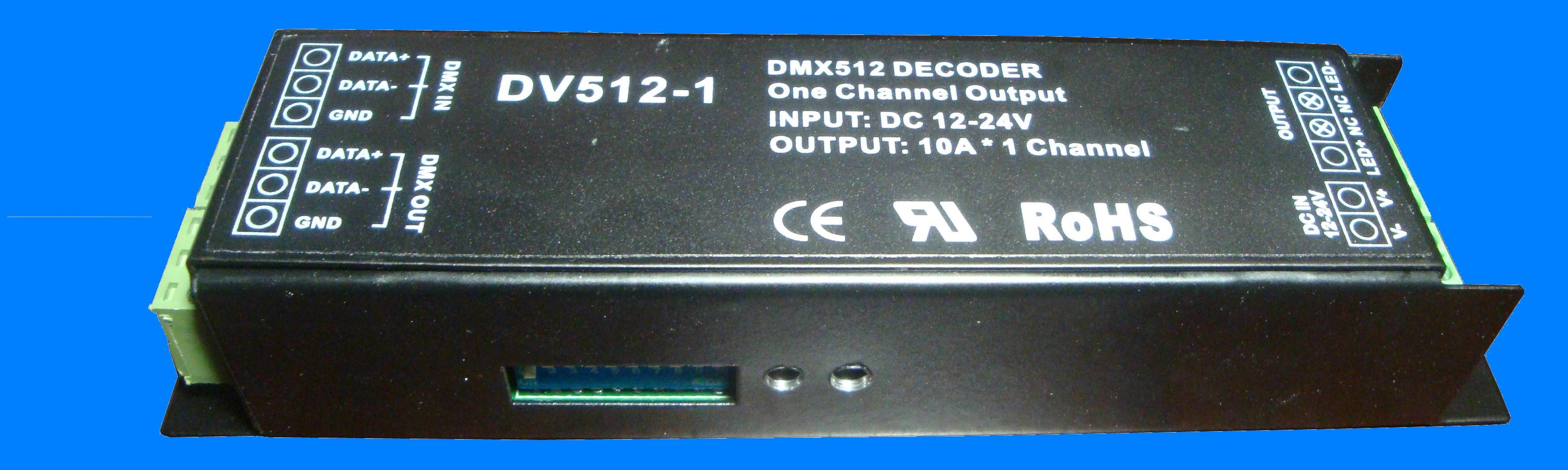 DMX512 decoder(10A*1CH.)