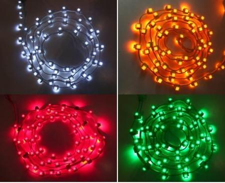 LED Bidirectional String Light for lighting view/chritmas decoration