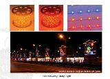 Night LED mural paiting draw,for christmas and new year festeval
