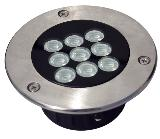 HEMLIGHTING LED Outdoor/underground light/inground,9*1W,Epistar, import component
