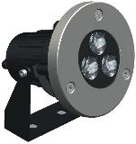 HEMLIGHTING LED Outdoor/underwater light,3*3W,CREE, OSRAM,Meanwell, import component