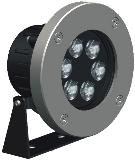HEMLIGHTING LED Outdoor/underwater light,6*3W,CREE, OSRAM,Meanwell, import component