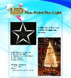 LED Five-Point Star Light for Christmas lighting decoration
